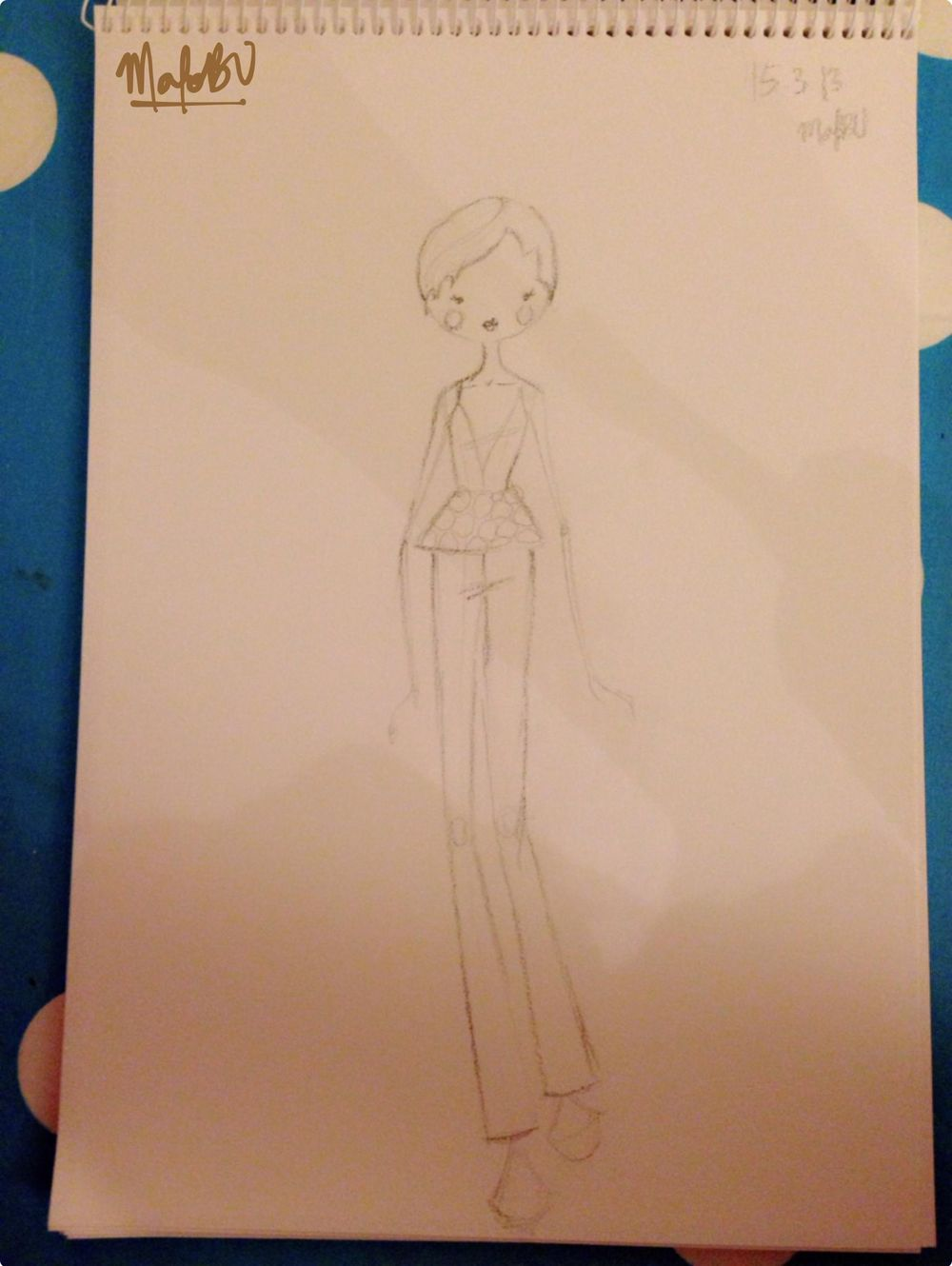 {1st WATERCOLORED} Illustrated Couture - image 18 - student project