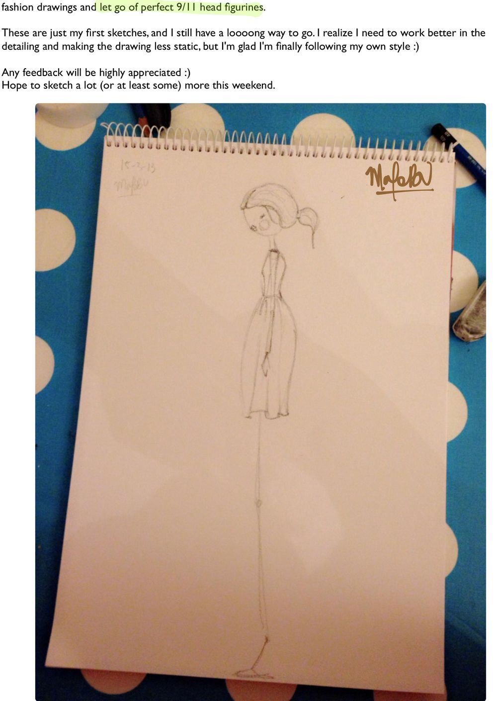 {1st WATERCOLORED} Illustrated Couture - image 16 - student project
