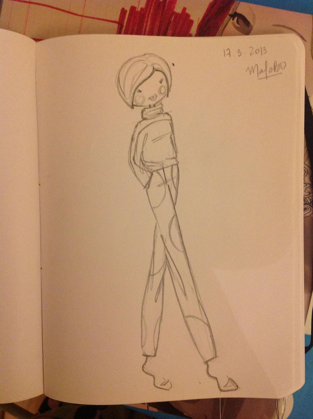 {1st WATERCOLORED} Illustrated Couture - image 13 - student project