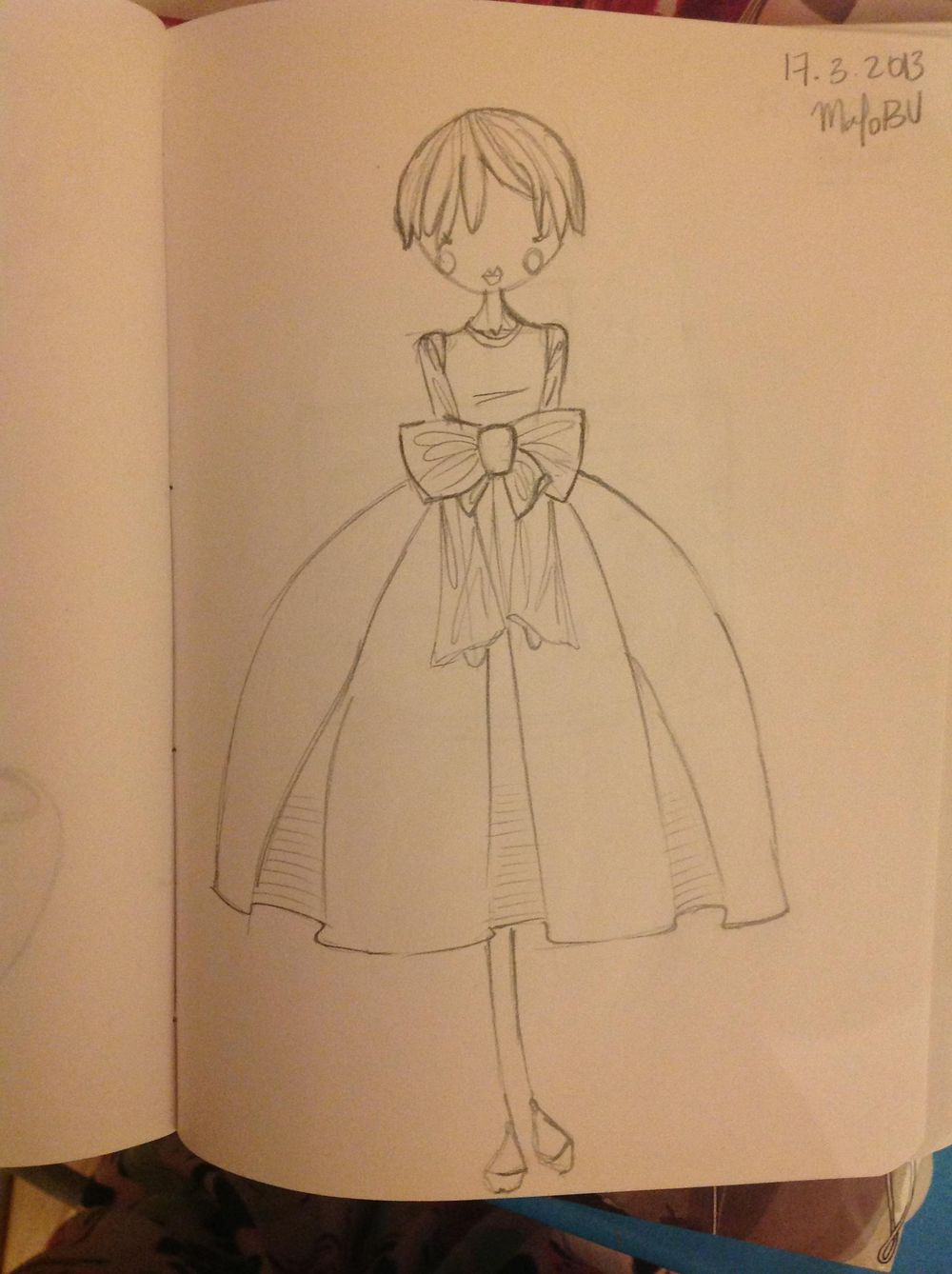 {1st WATERCOLORED} Illustrated Couture - image 7 - student project