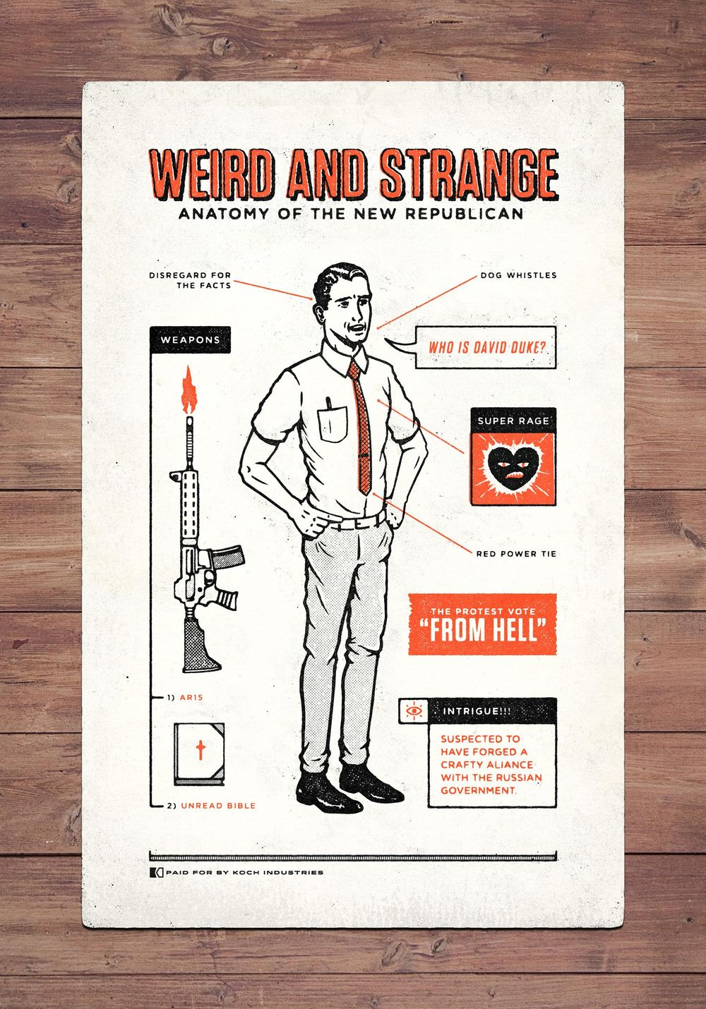 Weird and Strange - American Politics Edition  - image 1 - student project