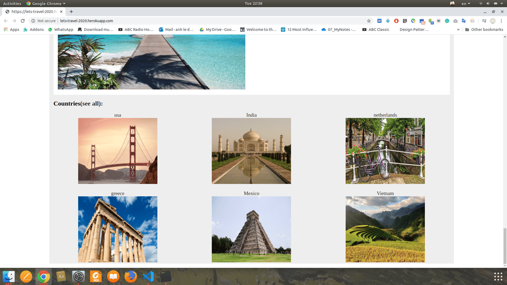 lets-travel - image 2 - student project