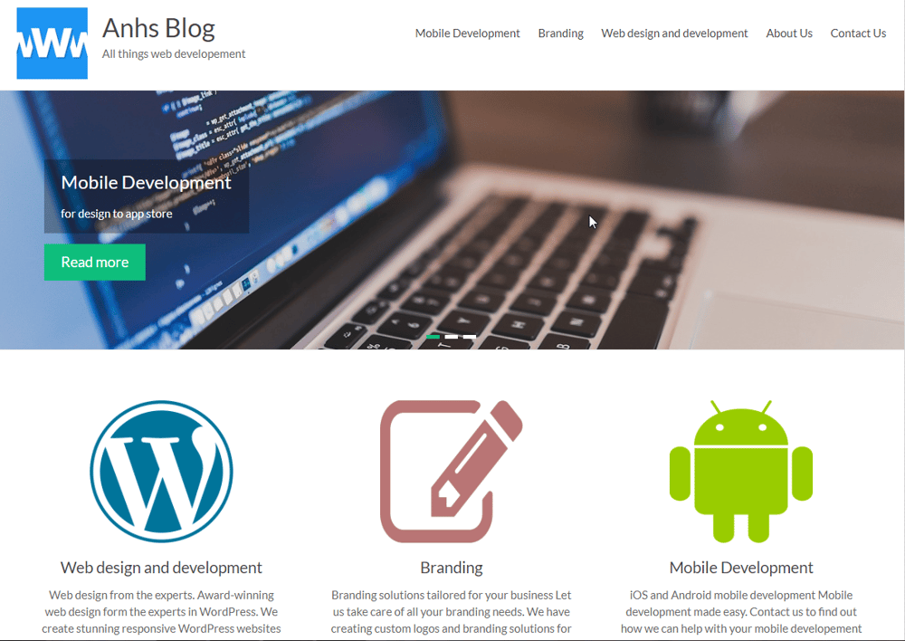 Web dev blog - image 9 - student project