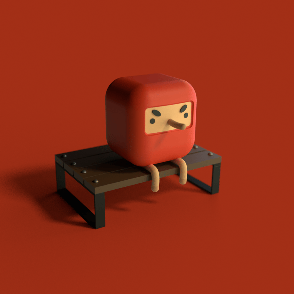 Lil Bench Dude - image 1 - student project