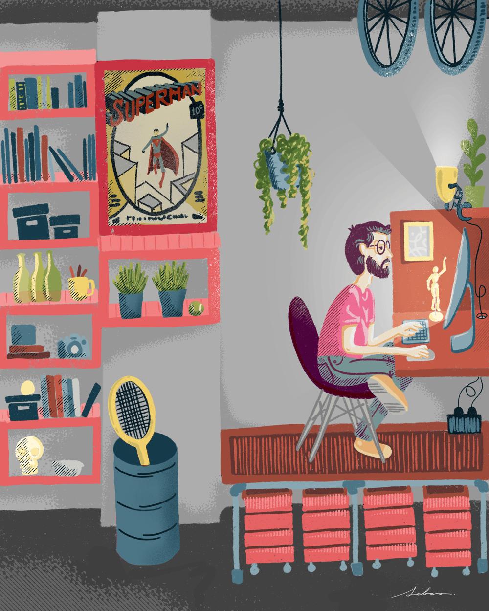 My workspace. Sebasandrade - image 5 - student project