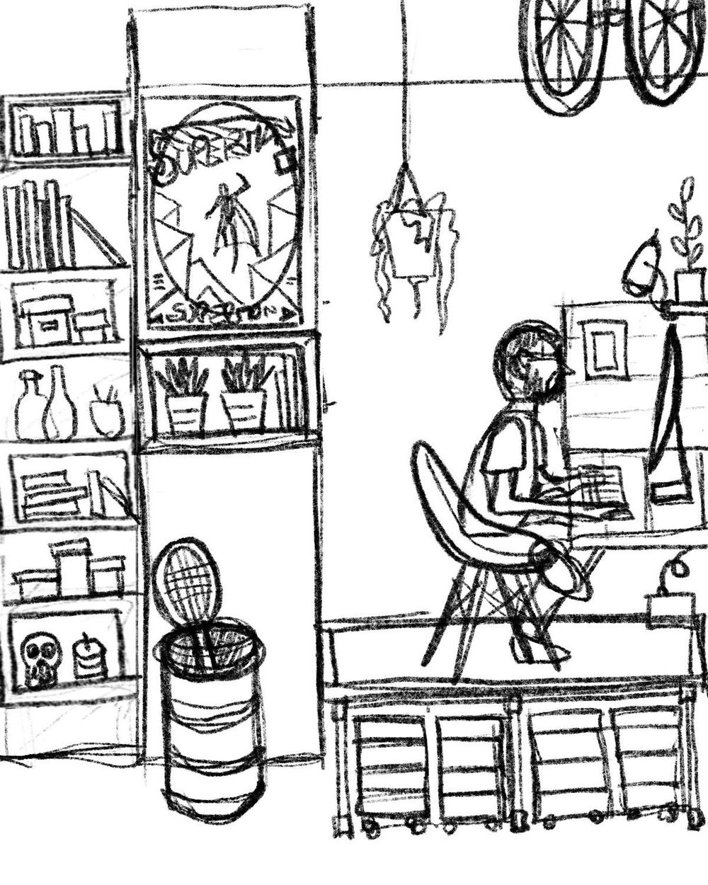My workspace. Sebasandrade - image 3 - student project