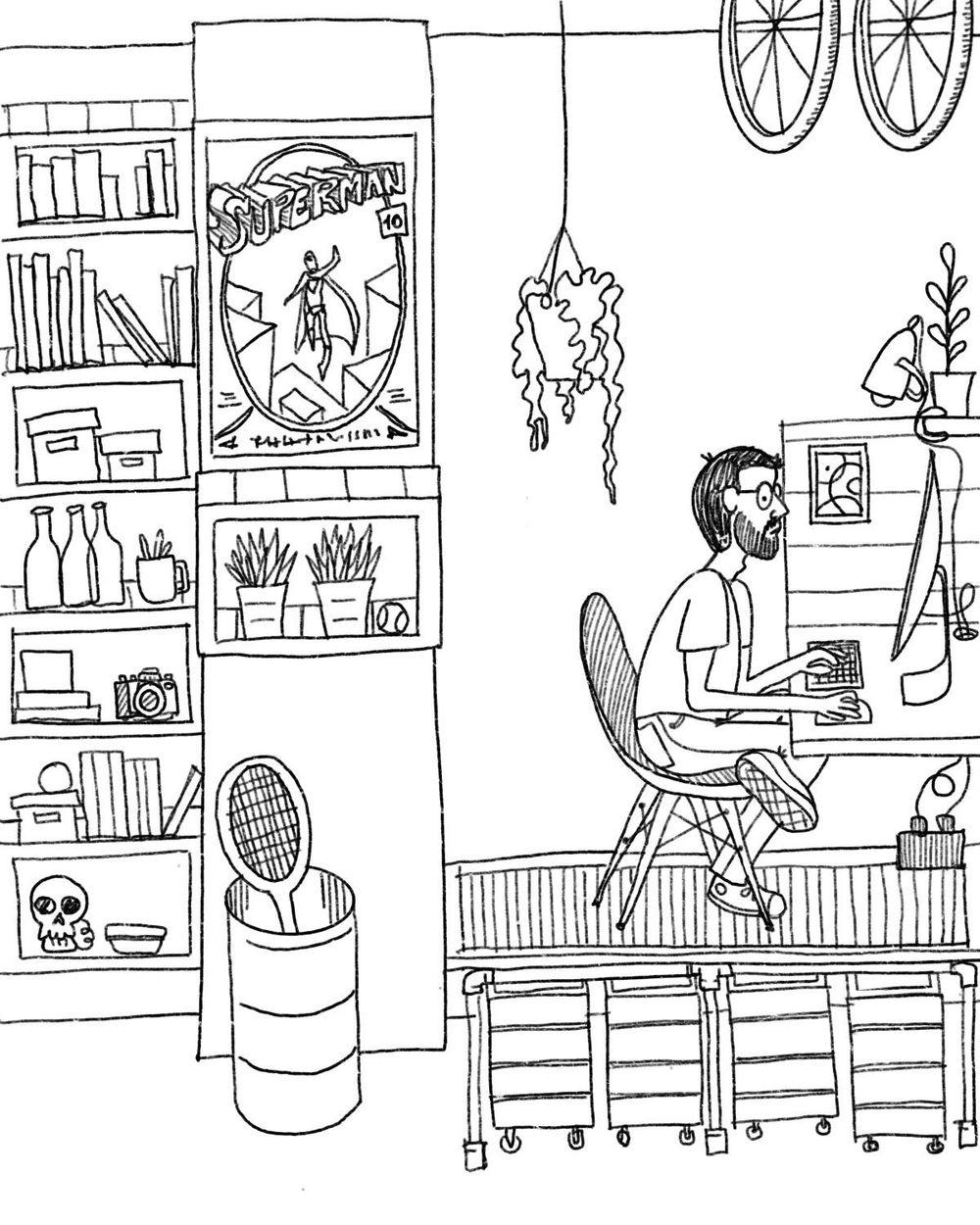 My workspace. Sebasandrade - image 4 - student project