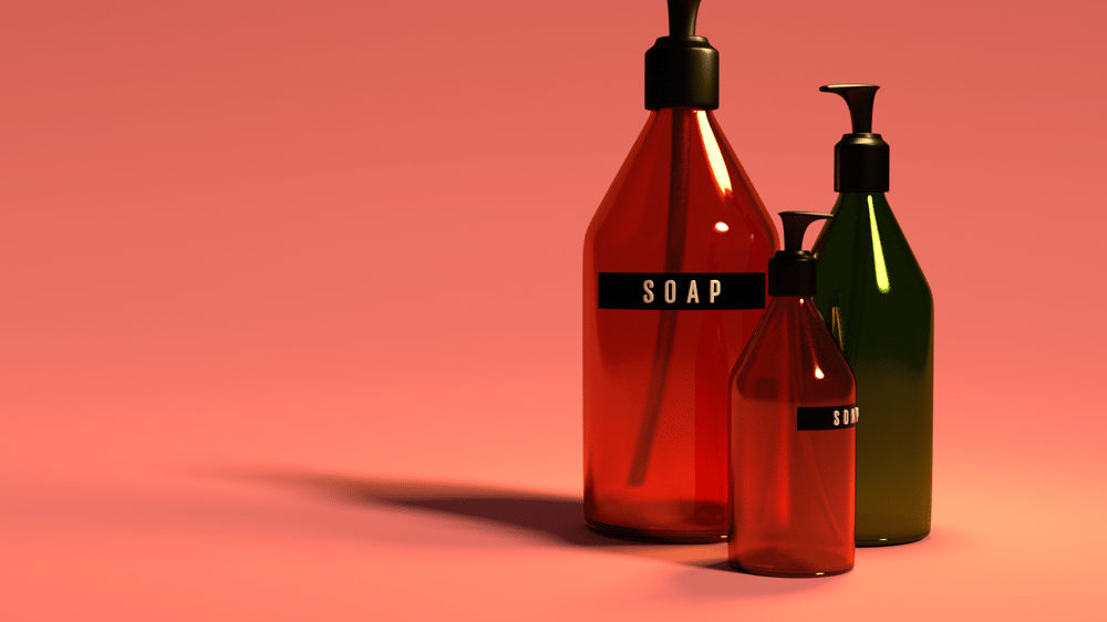 Soap bottles - image 1 - student project