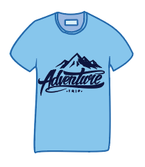 Blue Tee - image 1 - student project