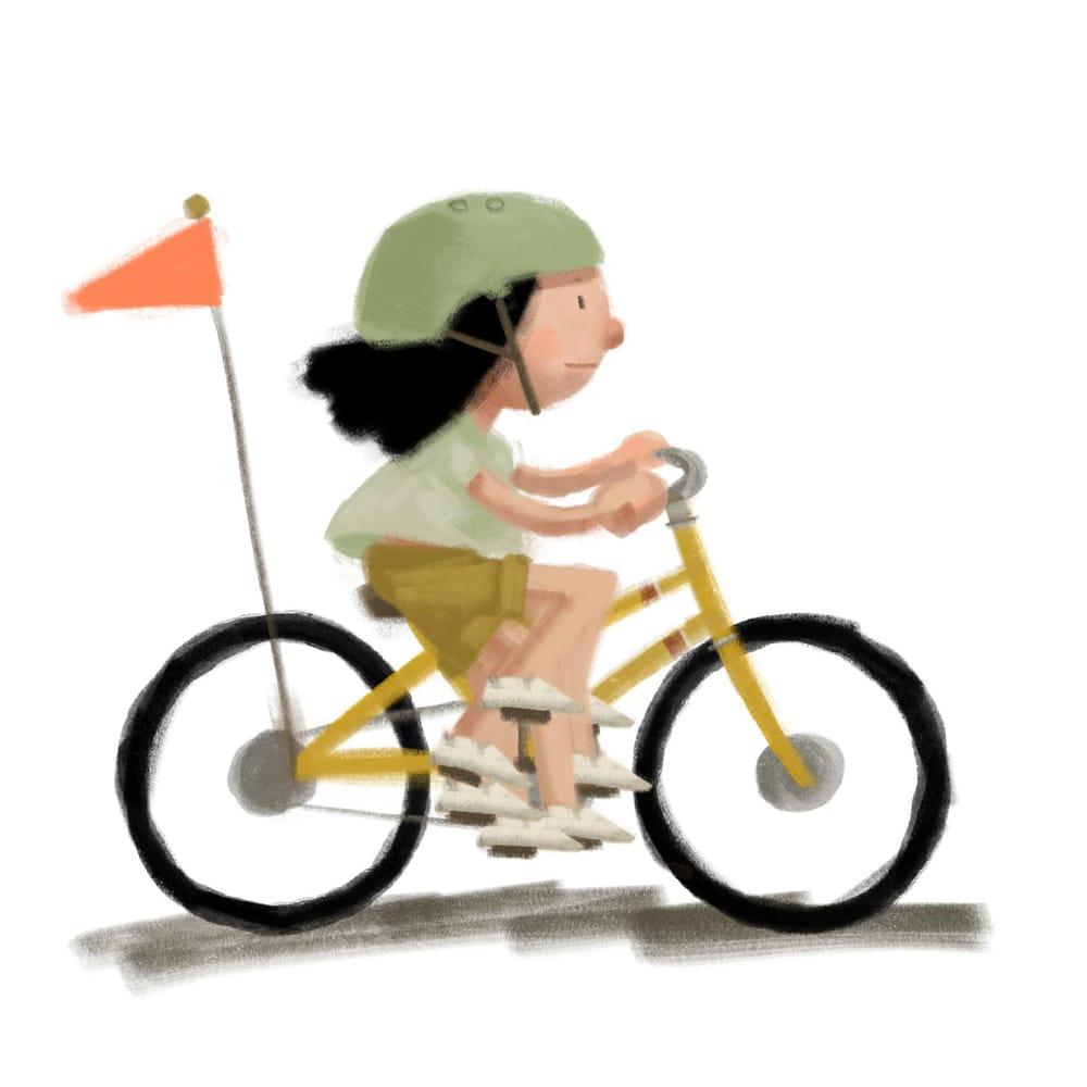seaside biker - image 2 - student project