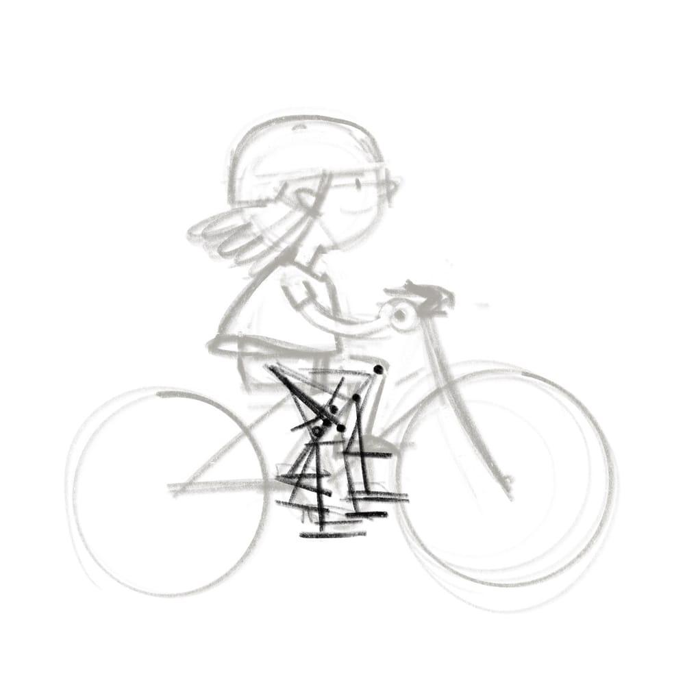 seaside biker - image 1 - student project