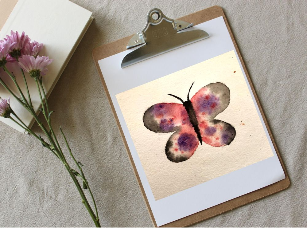 Simple Butterflies - image 4 - student project