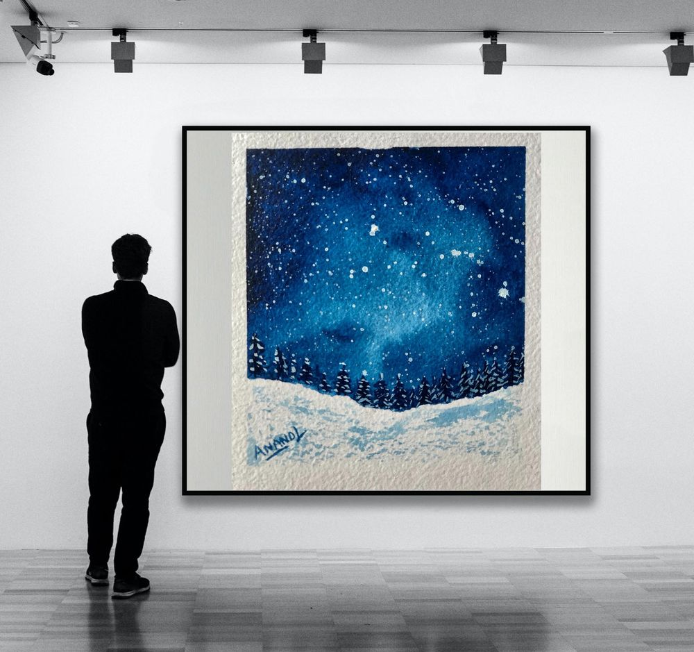 Snowy Galaxy - image 1 - student project