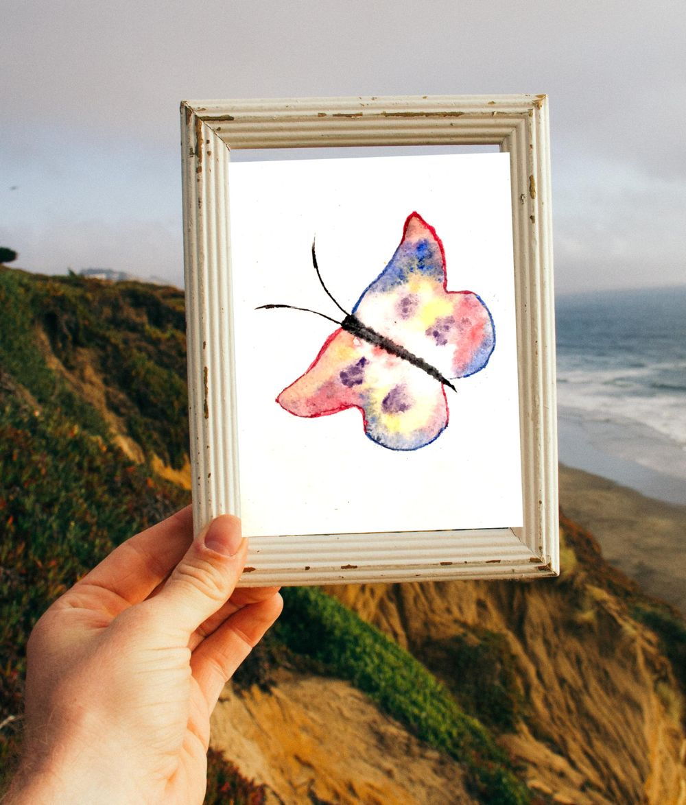 Simple Butterflies - image 1 - student project