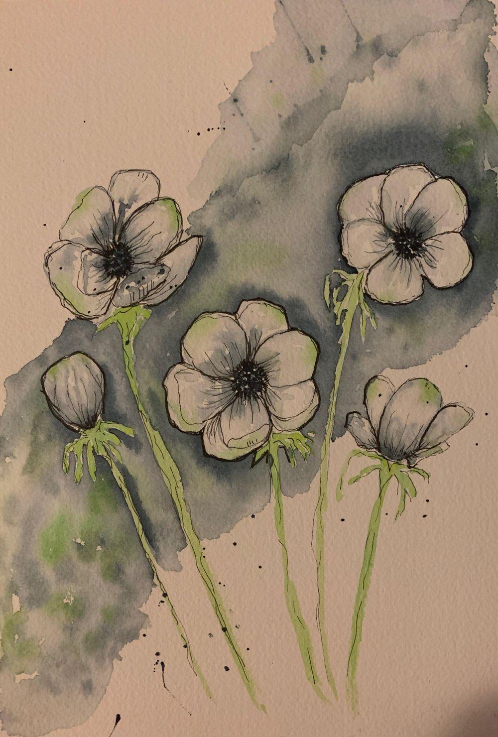 Anemones - Florals - image 1 - student project