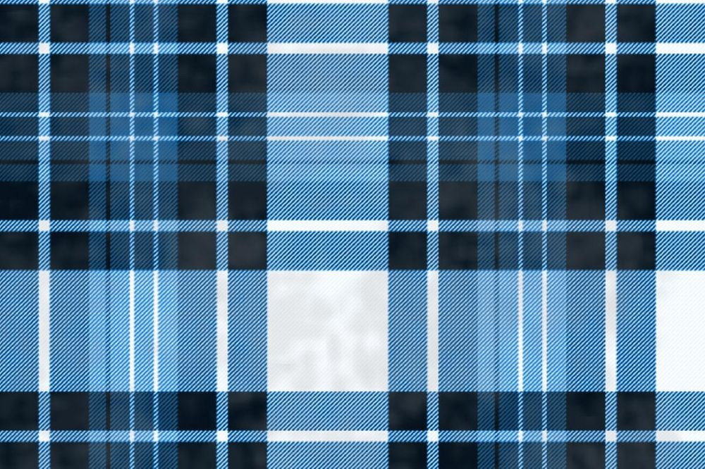 Blue Distressed Tartan - image 1 - student project