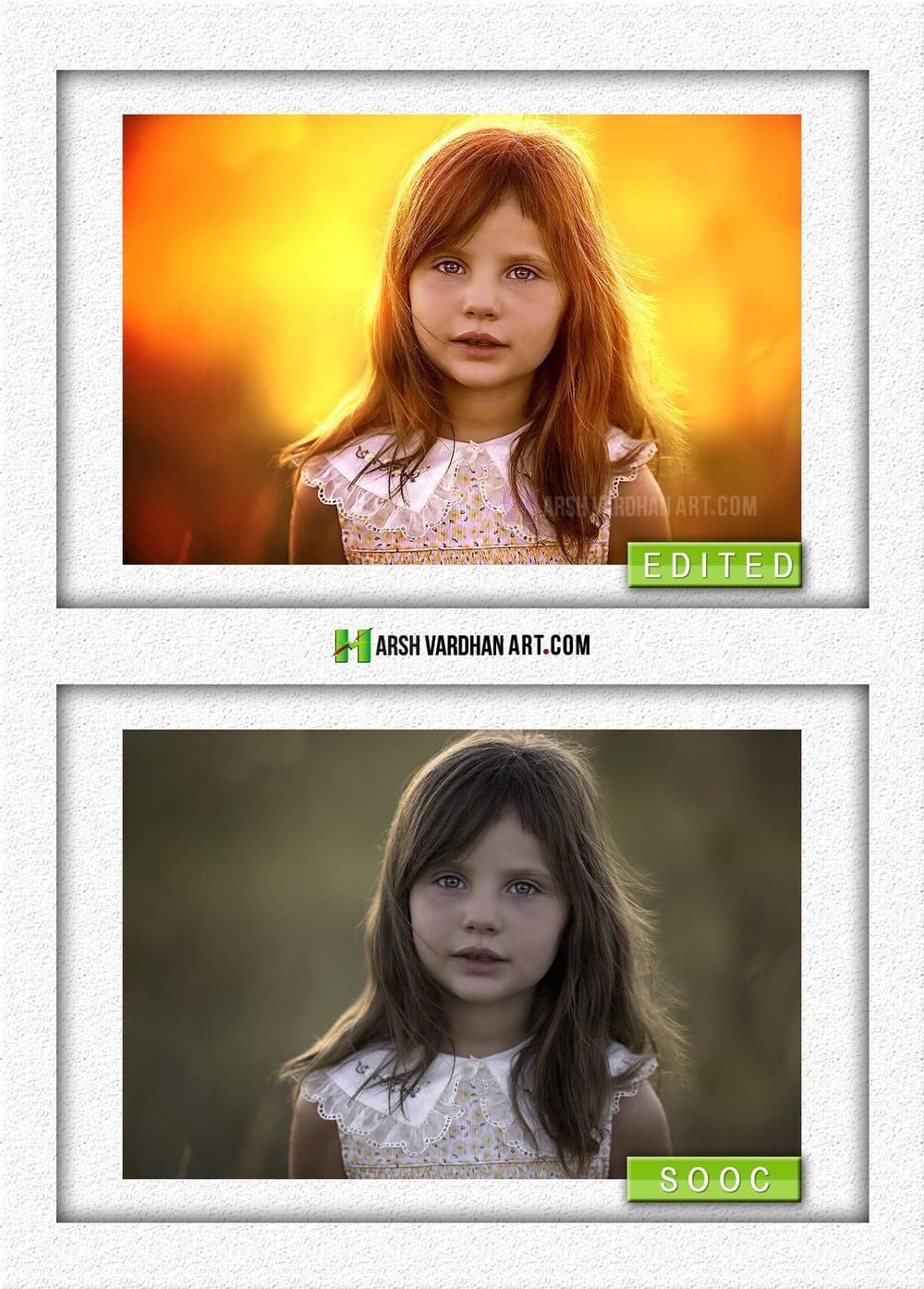 Sunset Soft Light effect- My Before After Result - image 1 - student project