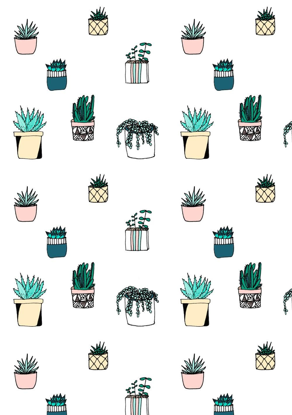 Cactus pattern - image 2 - student project