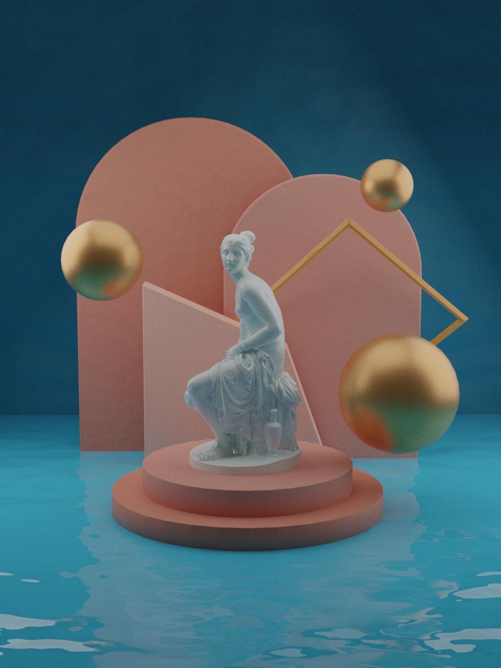 Blender Scene - image 1 - student project