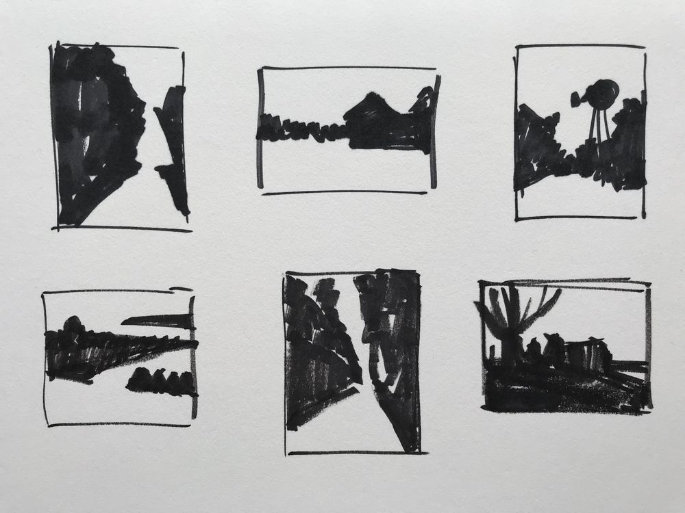 Notan Sketches - image 2 - student project