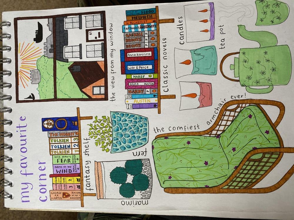 Illustrative Journalling - image 2 - student project