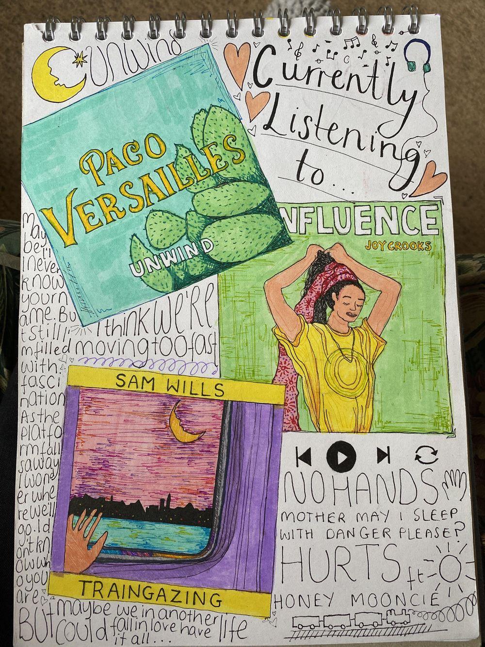 Illustrative Journalling - image 6 - student project