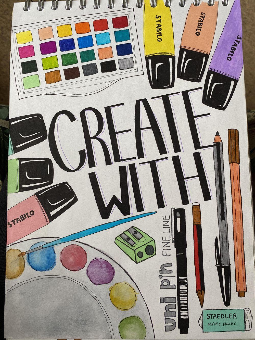 Illustrative Journalling - image 5 - student project