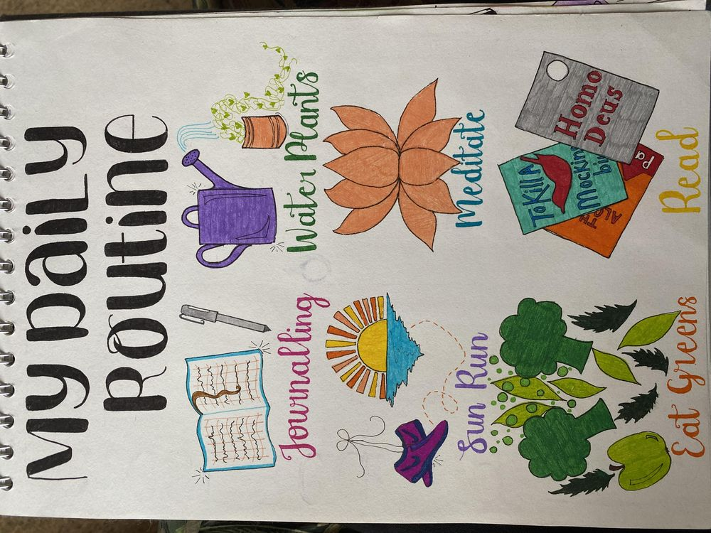Illustrative Journalling - image 9 - student project