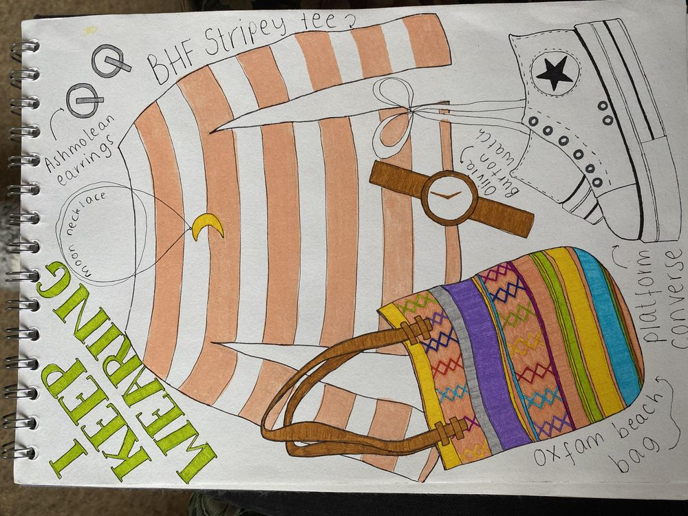 Illustrative Journalling - image 3 - student project