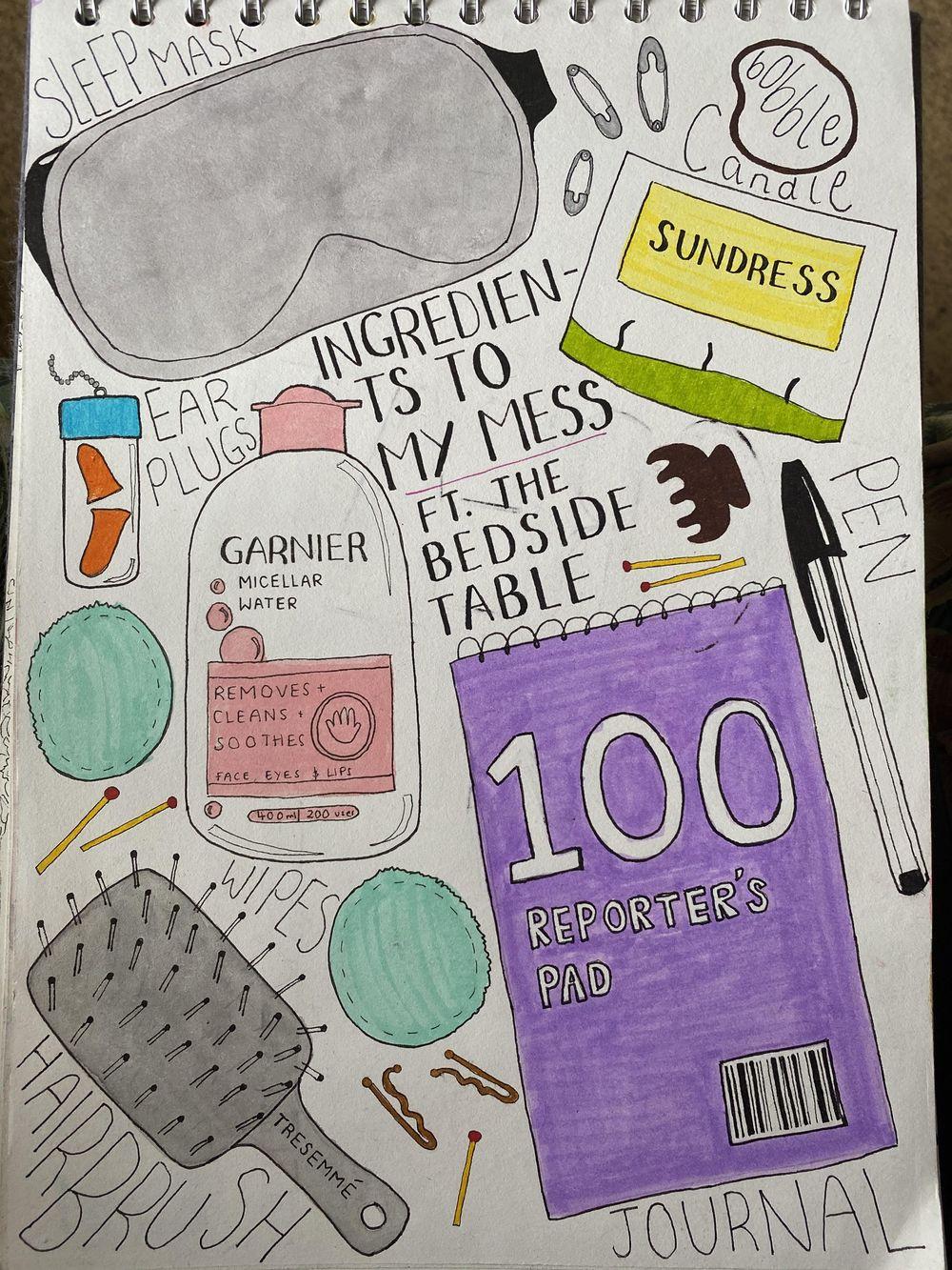 Illustrative Journalling - image 8 - student project