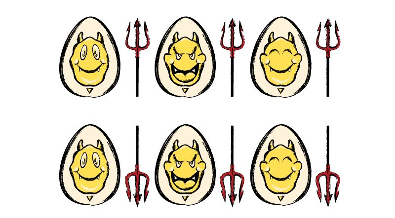 Deviled Eggs - image 1 - student project
