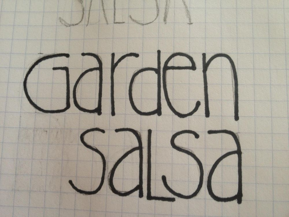 Salsa Label - image 1 - student project