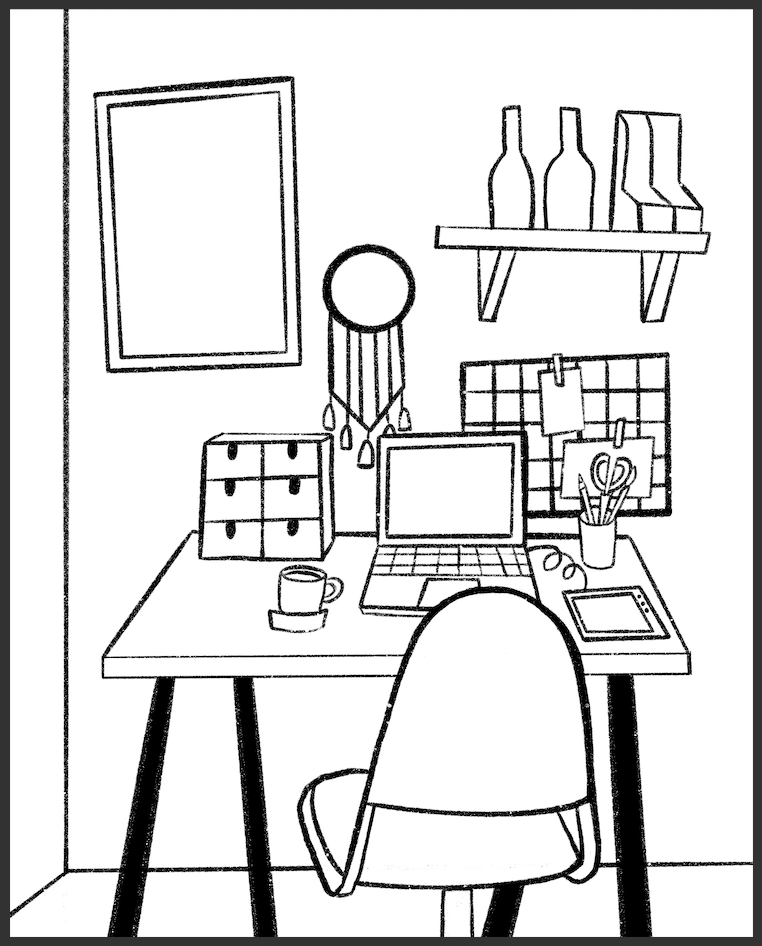inkmonki's workspace - image 1 - student project