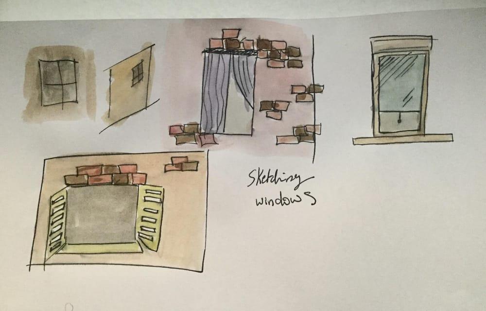Sketching Notre dame de Paris - image 2 - student project