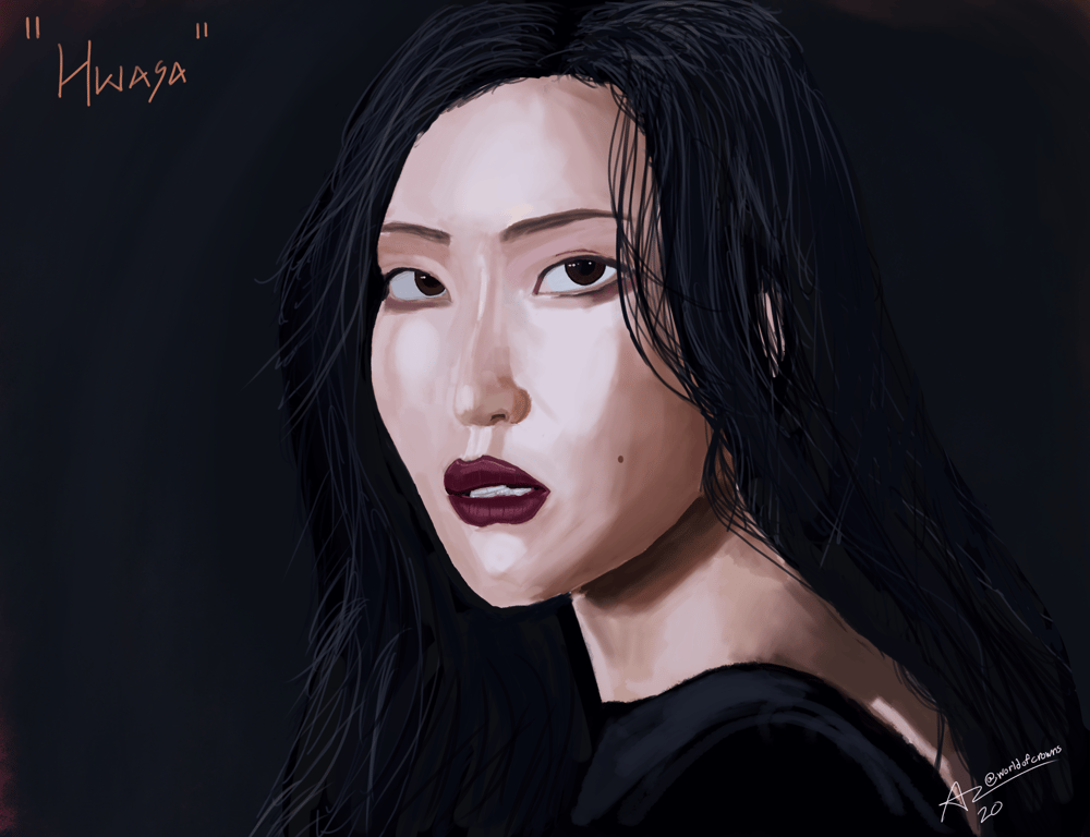Hwasa - Fire - image 1 - student project