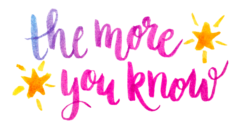 The more you know - image 2 - student project