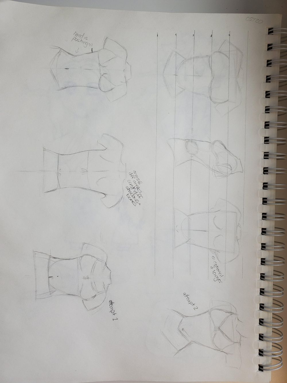 Torso Drawing - image 1 - student project