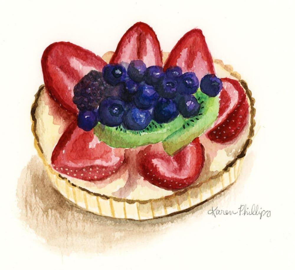 Fruit Tart - image 1 - student project