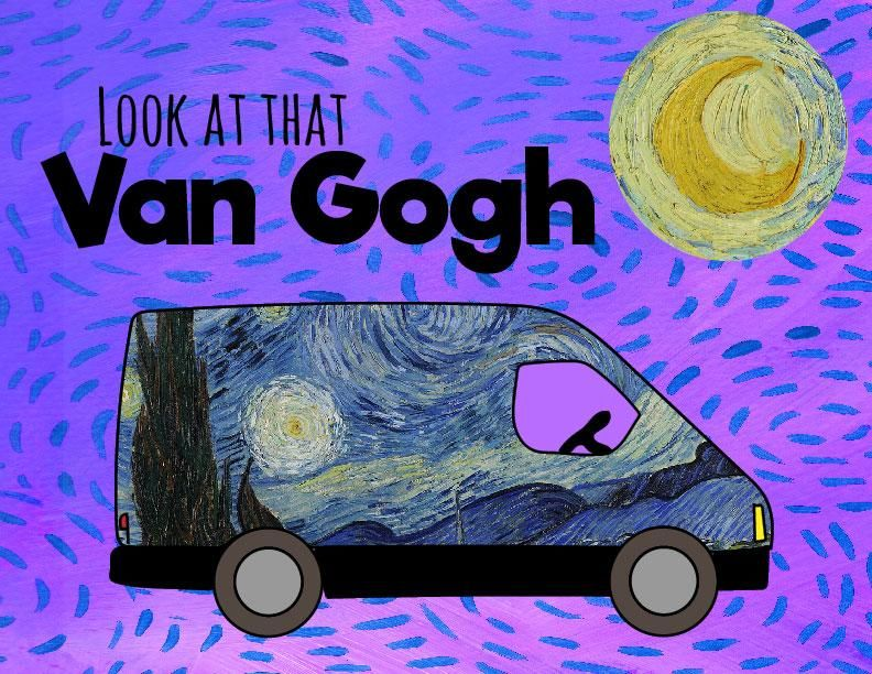 Look at that Van Gogh - image 1 - student project
