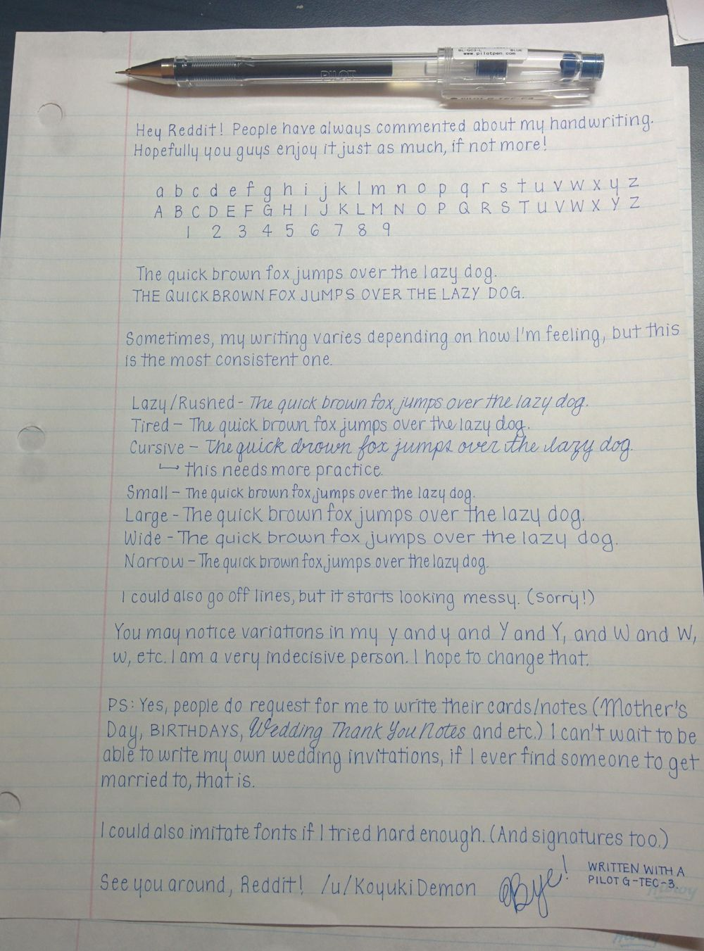Improving my handwriting - image 3 - student project