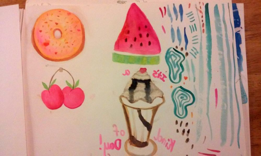 Painting Desserts - image 1 - student project