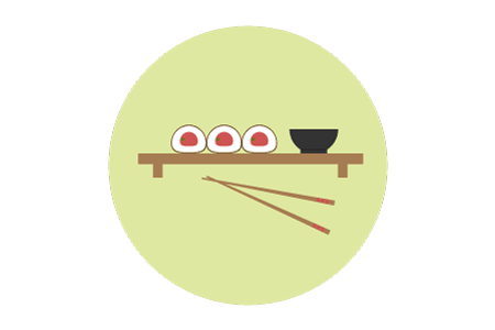 Flat Sushi Icon - image 1 - student project