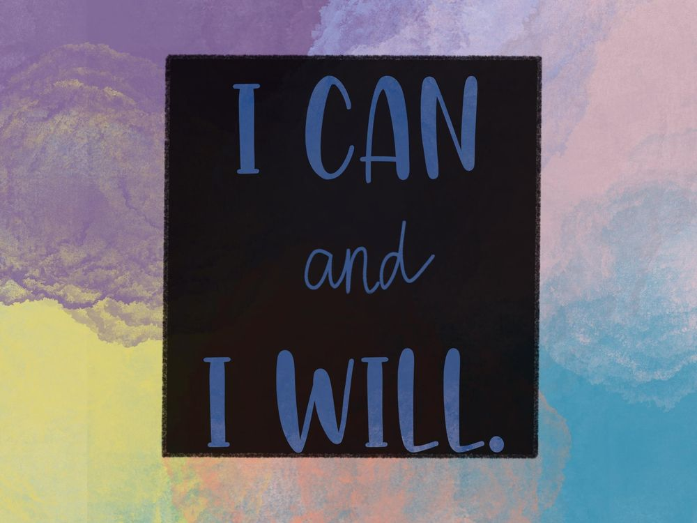 I can and I will - image 1 - student project