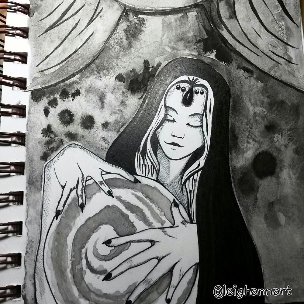 Inktober  - image 3 - student project
