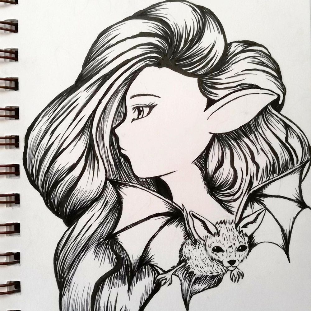 Inktober  - image 2 - student project