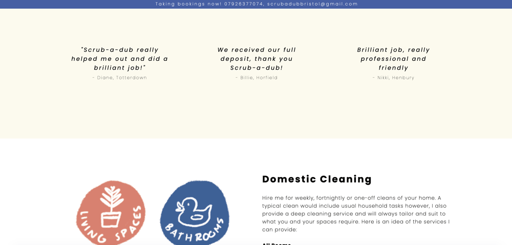 First Web Design - image 1 - student project