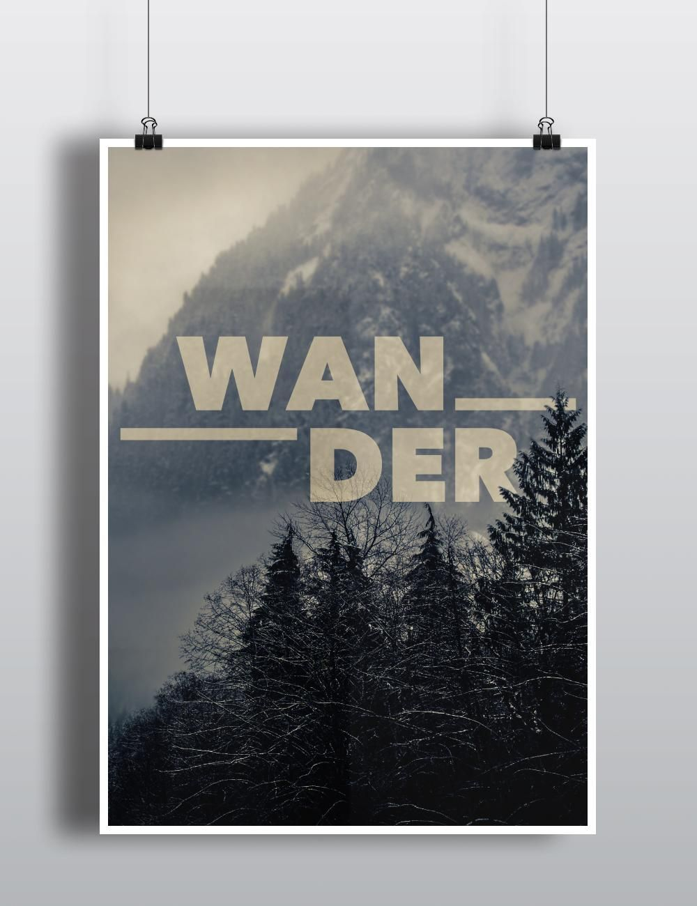 Endless Summer & Wander Poster - image 2 - student project