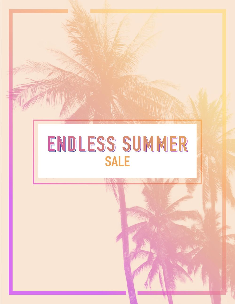 Endless Summer & Wander Poster - image 1 - student project