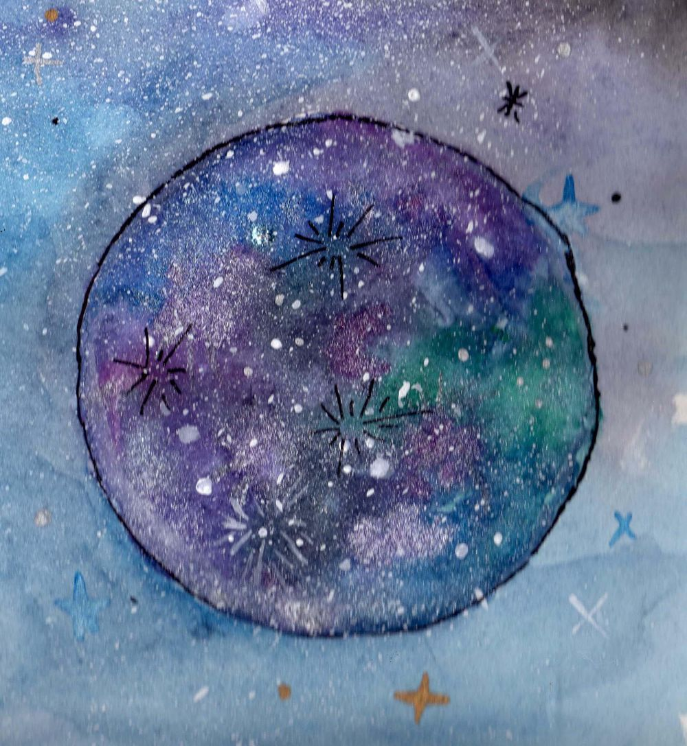 Fantasy moon  - image 5 - student project