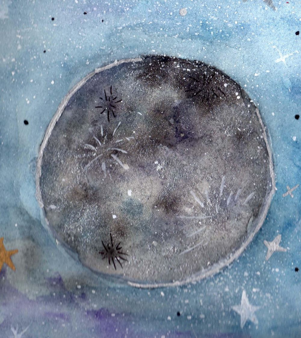 Fantasy moon  - image 4 - student project